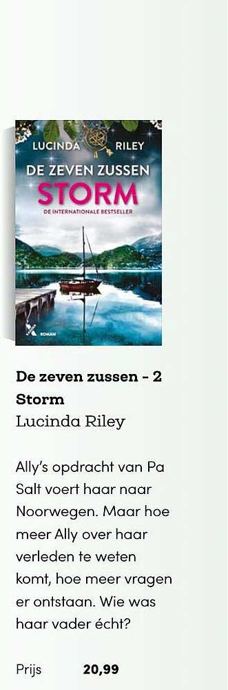 BookSpot De Zeven Zussen - 2 Storm - Lucinda Riley