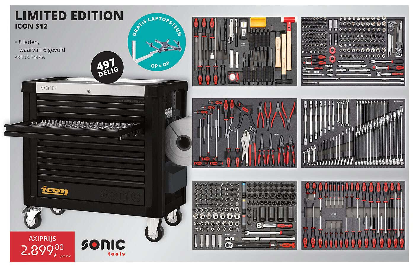 Toolspecial Limited Edition Icon S12 Sonic Tools