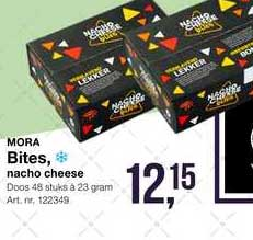 Bidfood Mora Bites, Nacho Cheese