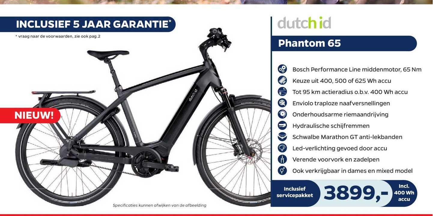 Bike Totaal Phantom 65 Fiets