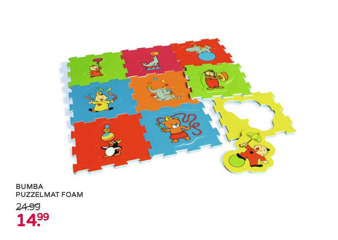 Prénatal Bumba Puzzelmat Foam