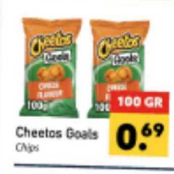 Tanger Markt Cheetos Goals