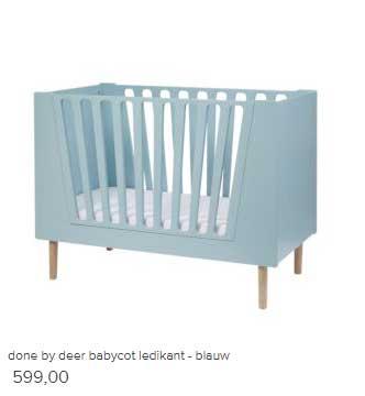 Vtwonen Done By Deer Babycot Ledikant Blauw