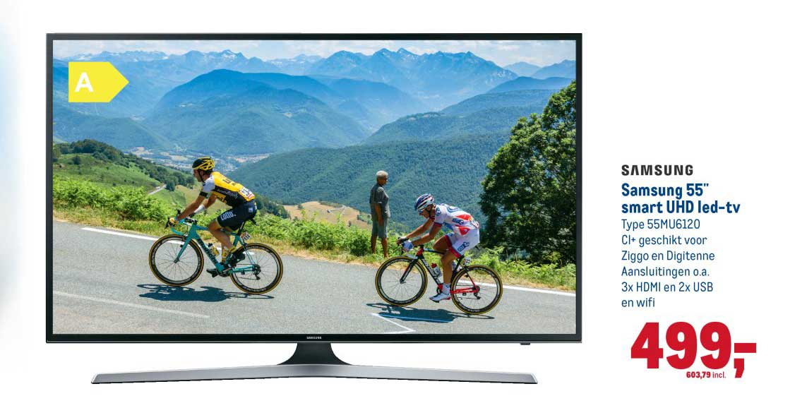 Makro Samsung 55 Inch Smart Uhd Led Tv