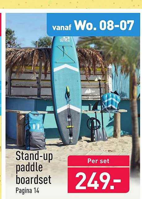 ALDI Stand-Up Paddle Boardset