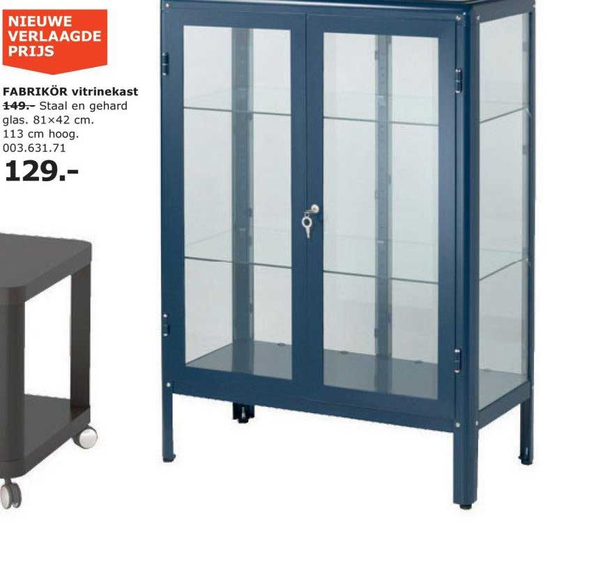 IKEA Fabrikor Vitrinekast