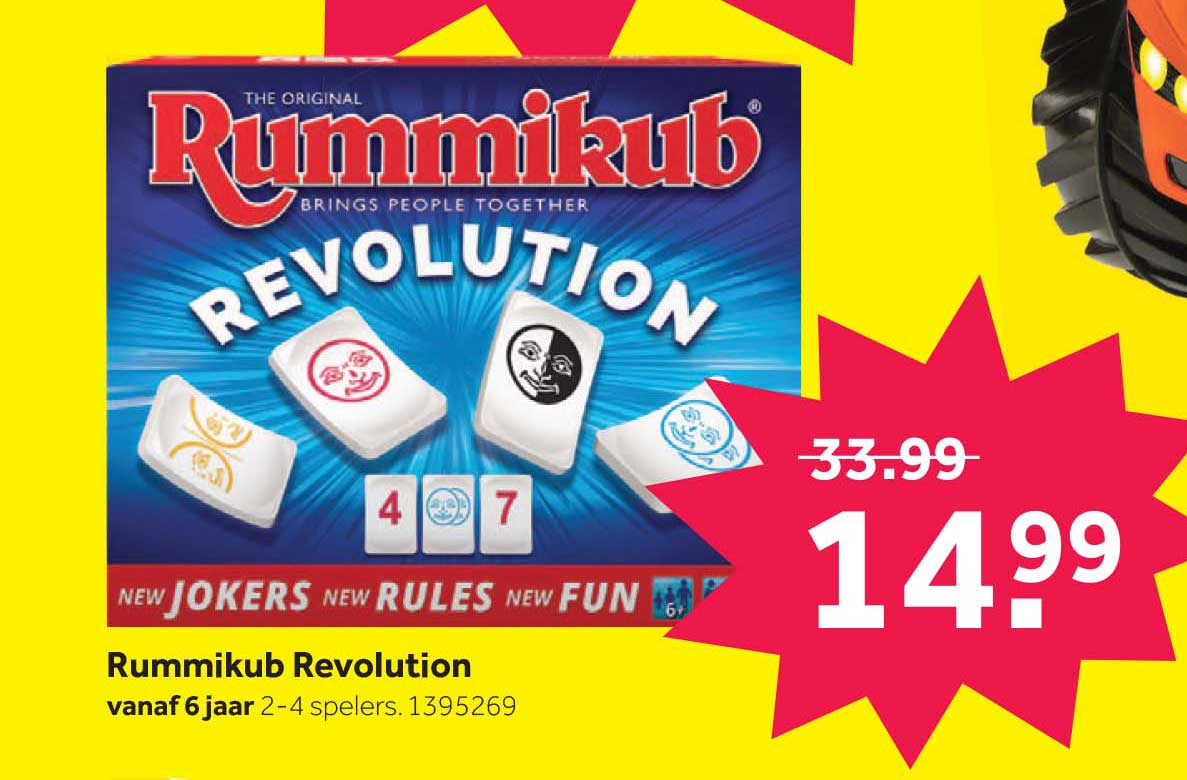 Intertoys Rummikub Revolution