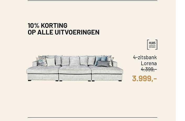 Piet Klerkx 4-Zitsbank Lorena