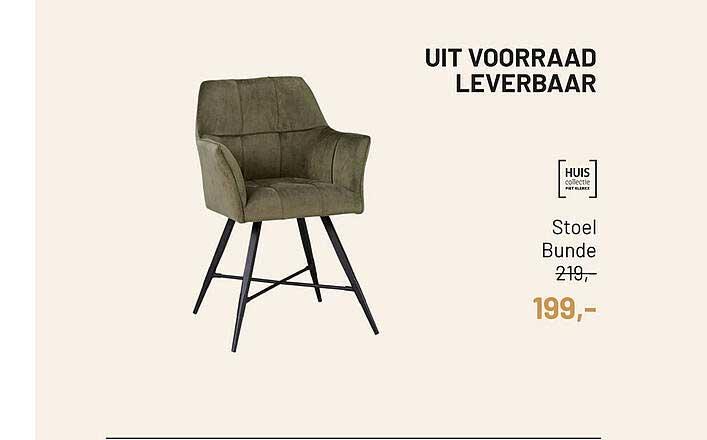 Piet Klerkx Stoel Bunde