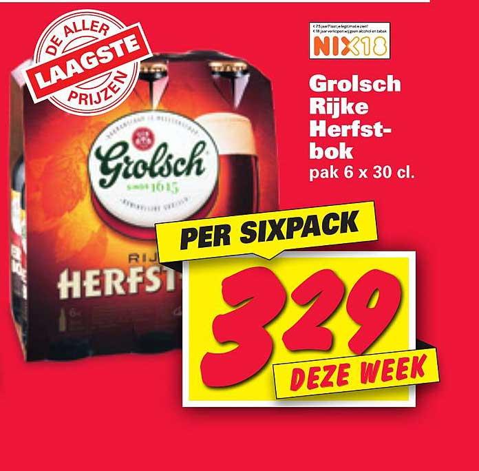 Nettorama Grolsch Rijke Herfstbok