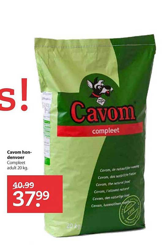 Pets Place Cavom Hondenvoer