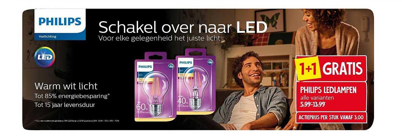 Jan Linders Philips Ledlampen