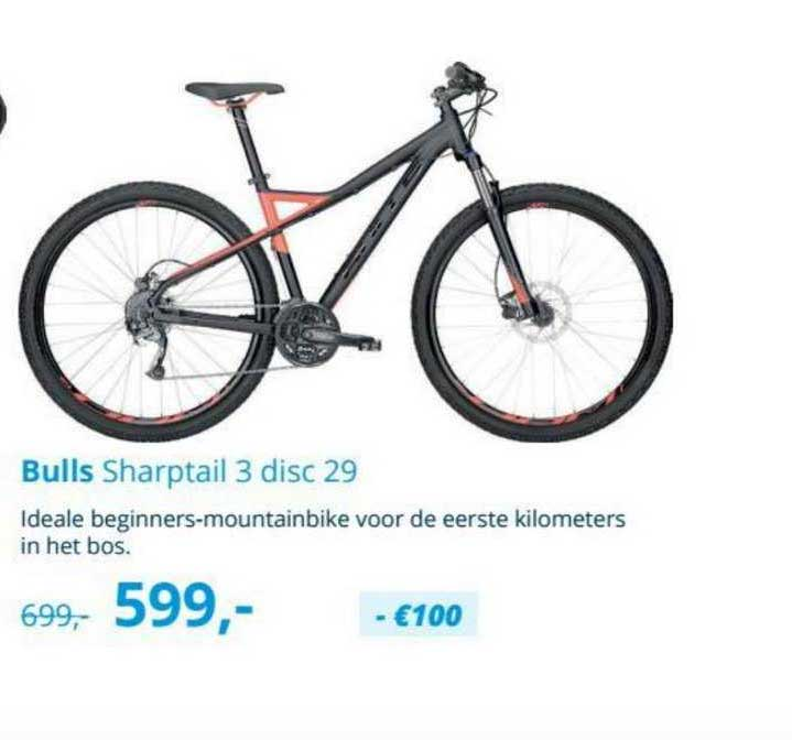Mantel Bulls Sharptail 3 Disc 29 Mountainbike
