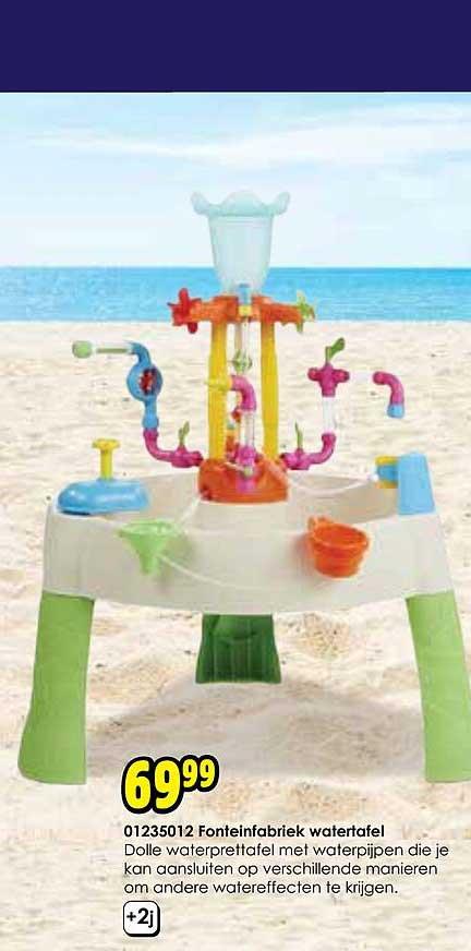 Toychamp 01235012 Fonteinfabriek Watertafel