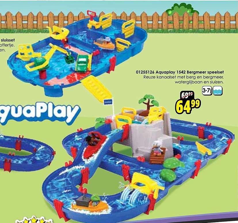 Toychamp 01255126 Aquaplay 1542 Bergmeer Speelset