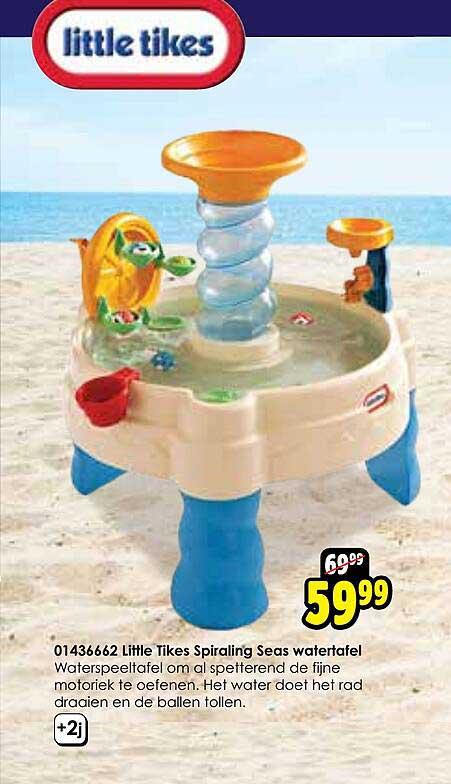 Toychamp 01436662 Little Tikes Spiraling Seas Watertafel
