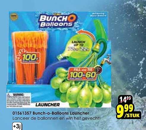 Toychamp 01561357 Bunch-O-Balloons Launcher