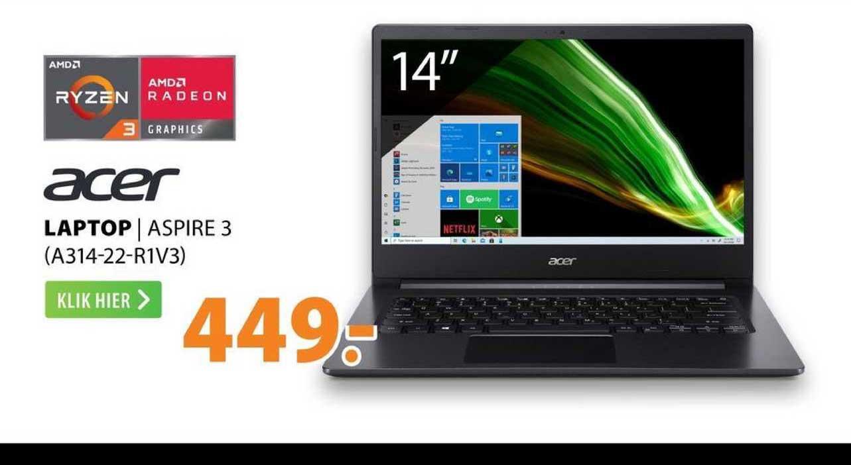 Expert Acer Laptop | Aspire 3 (A314-22-R1V3)