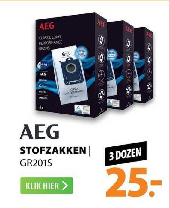 Expert AEG Stofzakken | GR201S