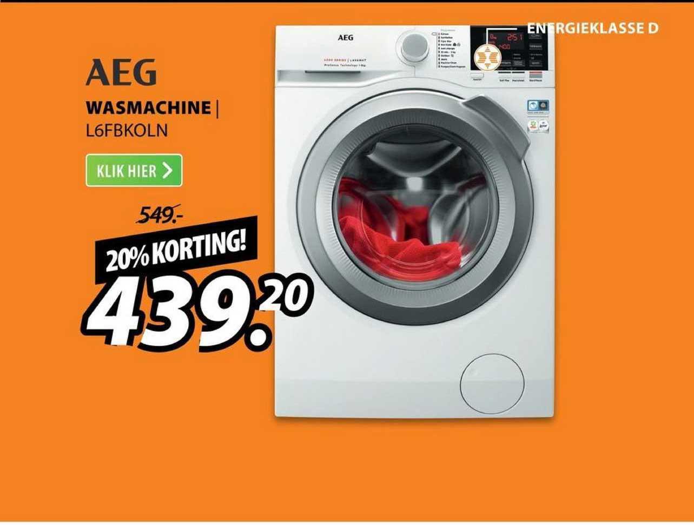 Expert AEG Wasmachine | L6FBKOLN 20% Korting