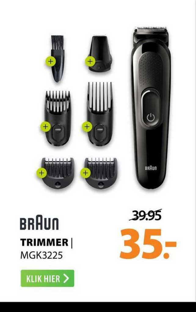 Expert Braun Trimmer | MGK3225