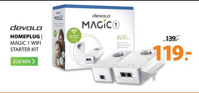 Expert Devolo Homeplug | Magic 1 Wifi Starter Kit