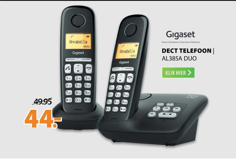 Expert Gigaset Dect Telefoon | AL385A Duo