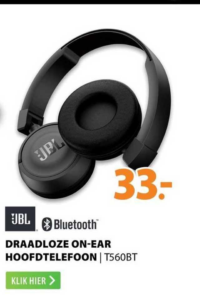 Expert JBL Draadloze On-Ear Hoofdtelefoon | T560BT