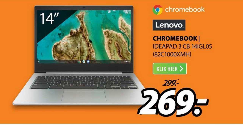 Expert Lenovo Chromebook | Ideapad 3 CB 14IGL05 (82C1000XMH)