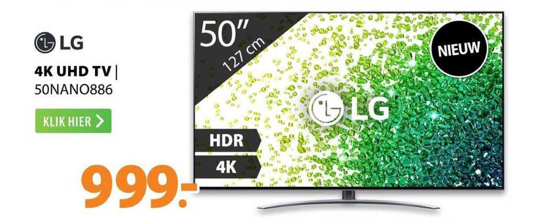 Expert LG 4K UHD TV | 50NANO886