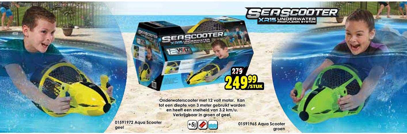 Toychamp Onderwaterscootermet 12 Volt Motor