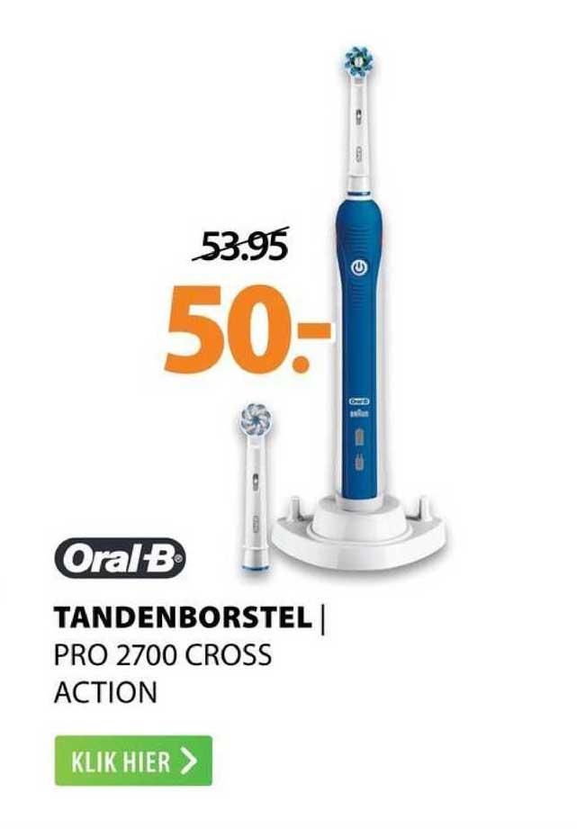 Expert Oral-B Tandenborstel | Pro 2700 Cross Action
