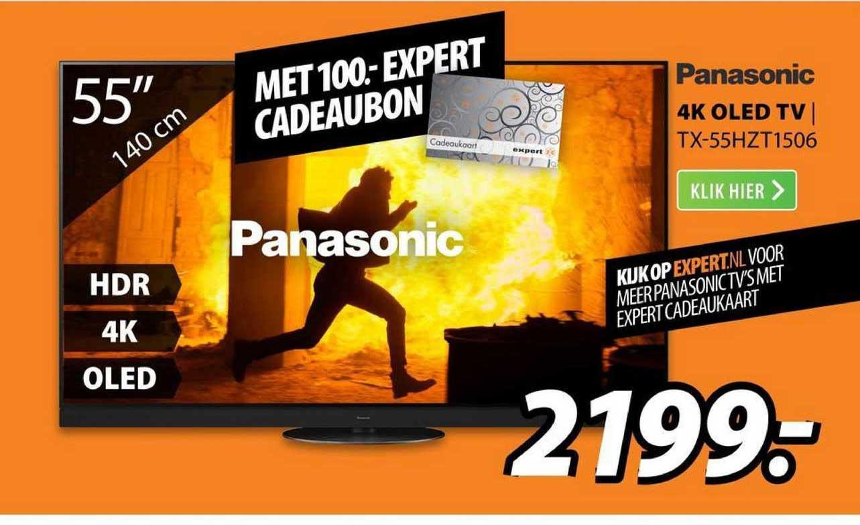 Expert Panasonic 4K OLED TV | TX-55HZT1506