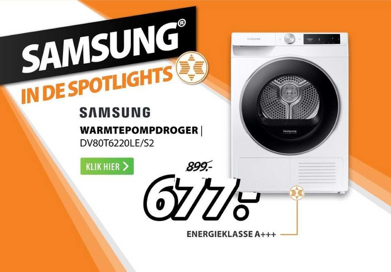 Expert Samsung Warmtepompdroger