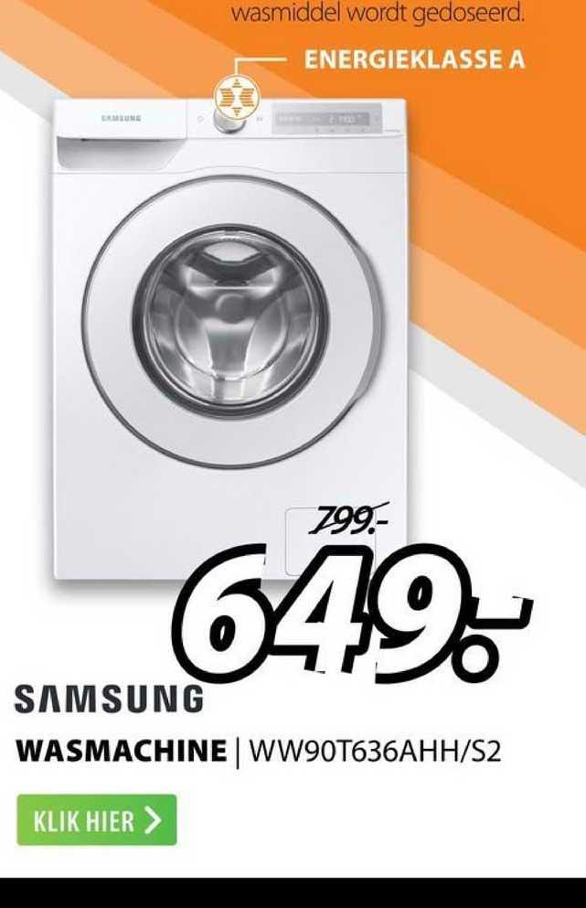 Expert Samsung Wasmachine | WW90T636AHH-S2