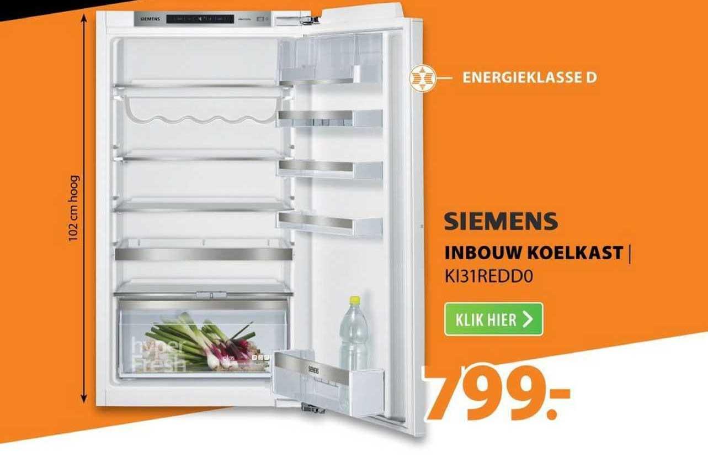 Expert Siemens Inbouw Koelkast | KI31REDD0