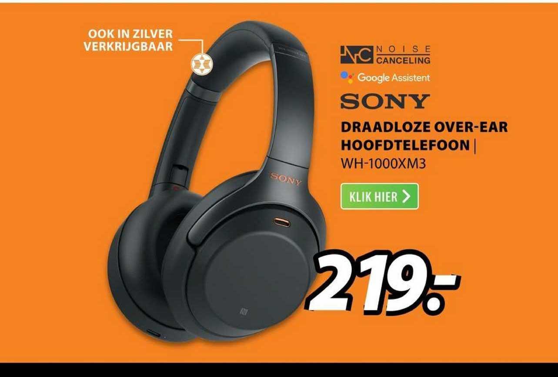Expert Sony Draadloze Over-Ear Hoofdtelefoon | WH-1000XM3