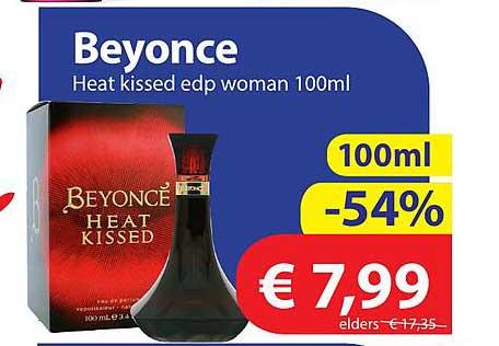 Die Grenze Beyonce Heat Kissed Edp Woman 100ml