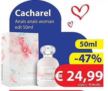 Die Grenze Cacharel Anaïs Anaïs Woman Edt 50ml