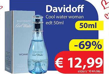 Die Grenze Davidoff Cool Water Woman Edt 50ml