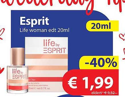 Die Grenze Esprit Life Woman Edt 20ml