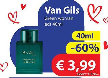 Die Grenze Van Gils Green Woman Edt 40ml