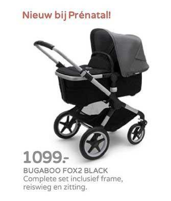 Prénatal Bugaboo Fox2 Black