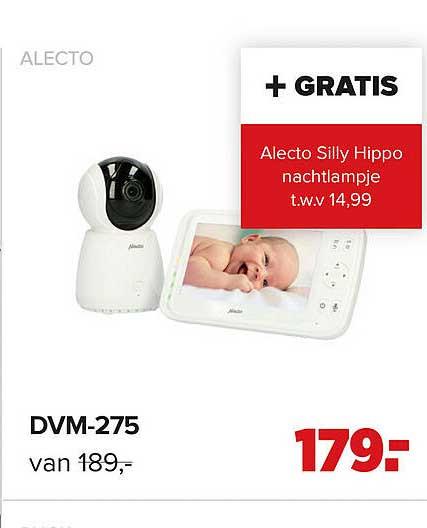 Baby-Dump Alecto DVM-275 Babyfoon
