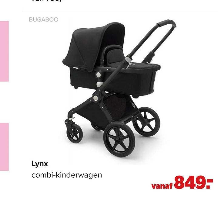 Baby-Dump Bugaboo Lynx Combi-Kinderwagen