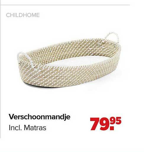Baby-Dump Childhome Verschoonmandje Incl. Matras