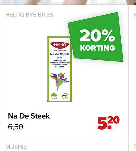 Baby-Dump Heltiq Bye Bites Na De Steek 20% Korting