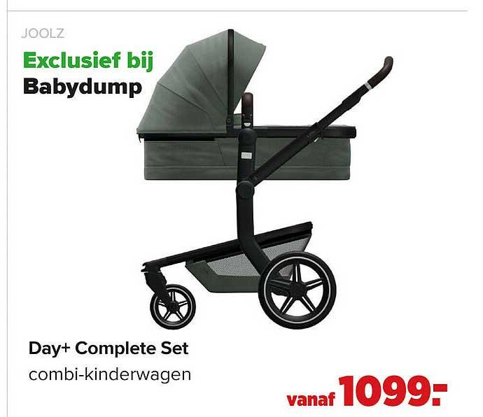Baby-Dump Joolz Day+ Complete Set Combi-Kinderwagen