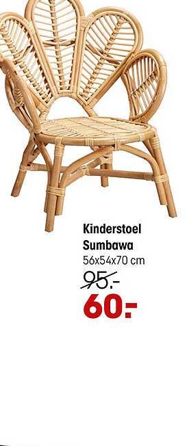 Kwantum Kinderstoel Sumbawa 56x54x70 Cm