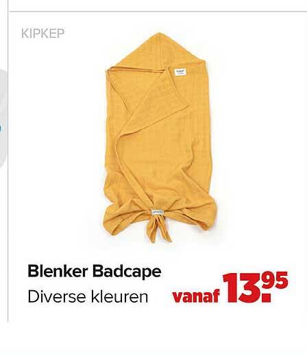 Baby-Dump Kipkep Blenker Badcape
